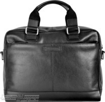 Things Terrific leather briefcase CAMBRIDGE Black