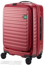 Lojel Cubo 54cm Hardside cabin laptop Suitcase LJCU54 BURGUNDY RED