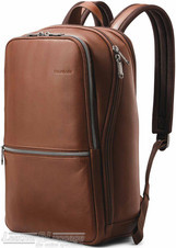 Samsonite Classic Leather backpack 126036 COGNAC
