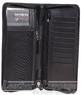 Samsonite RFID leather travel wallet 59759 BLACK