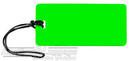 Global luggage tag 16LTG133NG NEON GREEN