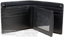 Cellini Shelby RFID leather wallet with flap CMH201 BLACK