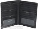 Cellini Viper RFID leather blazer wallet CMH207 BLACK