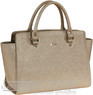 Morrissey Leather handbag MO1725 Beige