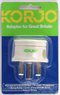 Korjo adaptor for Great Britain KAUK