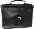 Hidesign leather briefcase KINGSFORD BLACK