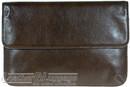 Things terrific leather folio CHARLES Chocolate