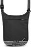 Pacsafe COVERSAFE V75 RFID blocking neck pouch 10139100 Black