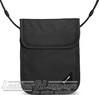 Pacsafe COVERSAFE X75 anti-theft RFID blocking neck pouch 10148100 Black