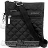 Hedgren Diamond Touch handbag KAREN HDIT10 BLACK