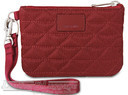 Pacsafe RFIDsafe W50 RFID blocking coin & card purse 10700310 Cranberry