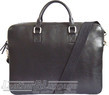 Things Terrific leather briefcase BENJAMIN Black