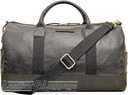 Things Terrific leather duffle HENRY Black