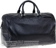 Things Terrific leather duffle PACIFIC BLACK