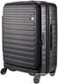 Lojel Cubo 65cm Hardside Suitcase LJCU65 BLACK
