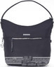 Hedgren Aura hobo handbag SPARKLE HAUR03 Black