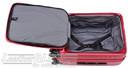 Lojel Cubo 54cm Hardside cabin laptop Suitcase LJCU54 BURGUNDY RED - 2