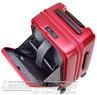 Lojel Cubo 54cm Hardside cabin laptop Suitcase LJCU54 BURGUNDY RED - 3