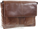 Things Terrific leather messenger VINCENT Rich Tan
