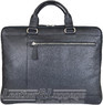 Things Terrific leather briefcase slimline MARCO Black