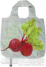 AT folding shopping bag 11TB Beetroot