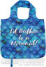 AT folding shopping bag 11TRM Mermaid