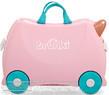 Trunki ride-on suitcase 0353 FLOSSI FLAMINGO - 1