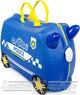 Trunki ride-on suitcase 0323 PIERCY POLICE CAR