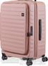 Lojel Cubo 65cm Hardside Suitcase LJCU65 ROSE