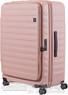Lojel Cubo 78cm Hardside Suitcase LJCU78 ROSE