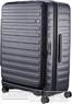 Lojel Cubo 74cm Hardside Top opening suitcase LJCU74 BLACK