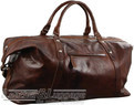 Pierre Cardin Leather overnight duffle 2824 COGNAC