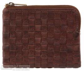 Pierre Cardin Ladies small leather wallet 3125 WALNUT