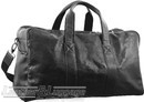 Pierre Cardin Leather overnight duffle 2825 BLACK
