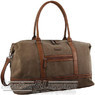 Pierre Cardin Canvas overnight duffle 2578 BROWN / KHAKI