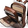 Samsonite Classic Leather backpack 126036 COGNAC - 1