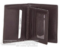 Cellini Viper RFID leather wallet with flap CMH211 BROWN