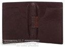 Cellini Viper RFID leather card holder CMH210 BROWN
