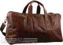 Pierre Cardin Leather overnight duffle 2825 CHESTNUT