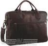Pierre Cardin Leather briefcase PC2807 CHESTNUT