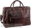 Pierre Cardin Leather briefcase PC2802 DARK CHOCOLATE