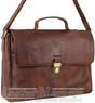 Pierre Cardin Leather briefcase PC3132 CHOCOLATE
