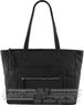 Gabee Genevieve Leather tote LW67221 Black