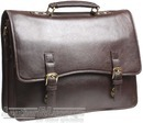 Hidesign leather briefcase KENNETH BROWN