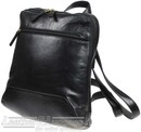 Hidesign leather backpack LINDON / BLACK