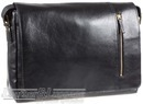 Hidesign leather messenger HOLDEN BLACK