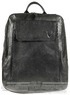 Hidesign leather backpack FLINT / BLACK
