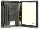 Artex Leather A4 compendium long range planner A4 A4030910 BLACK