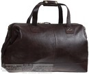 Hidesign leather duffle CLINTON BROWN