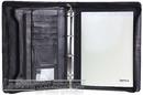Artex Leather A4 compendium top gun  A4036510 BLACK